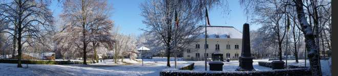 Parc Communal Château du Héron Maison Communale de Rixensart (neige) 12.2014 © Eric de Séjournet - 18