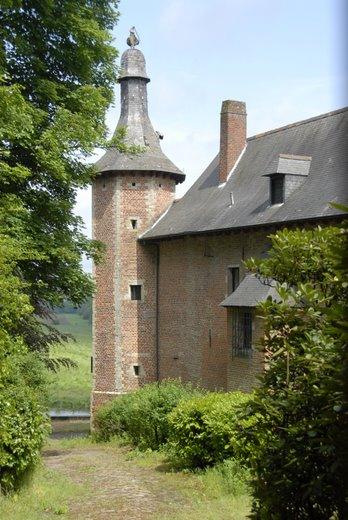 20080518 château de merode tour arrière © hubert desgain