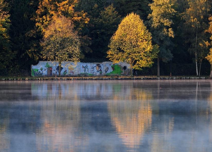 Graffiti du lac