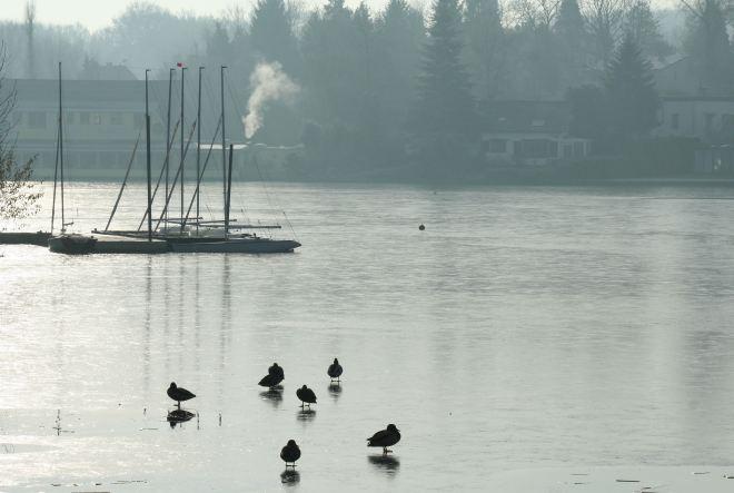 lac de genval hiver © andré riche