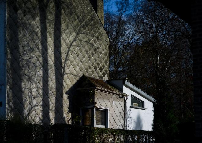 Rue du Monastère Wall Shadows 12.2013 © Cedric Muscat