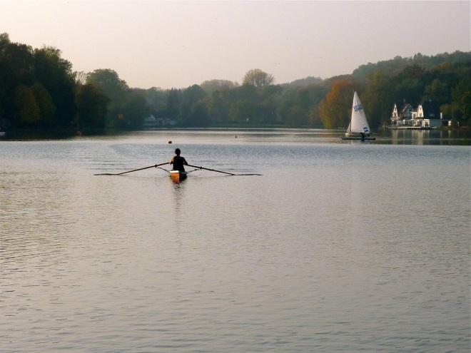 esquif sur le lac de genval 10.2012 © ges terzo