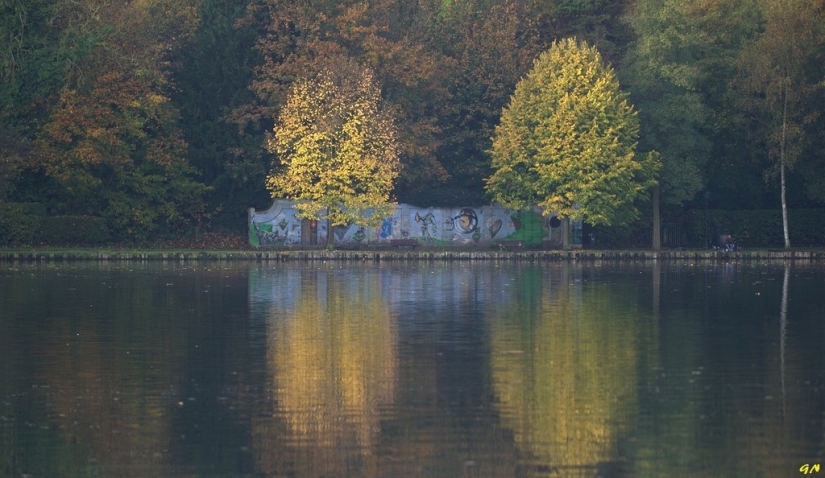 Graffiti du lac