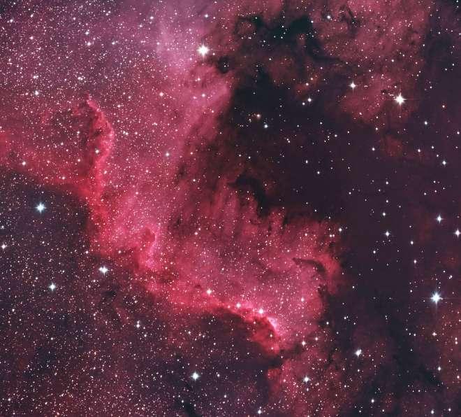 1002 Nouveau Monde America-NGC7000 Nébuleuse de l'Amérique du Nord 20170926 Genval © Simon-Pierre Gorza