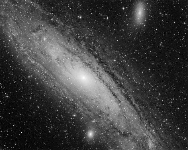 Galaxie Andromede depuis Genval 10.2018 © Pierre-Simon Gorza