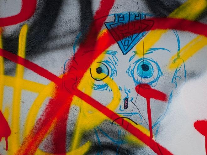 Gare de Rixensart (graffiti) 2.2014 © Cedric Muscat