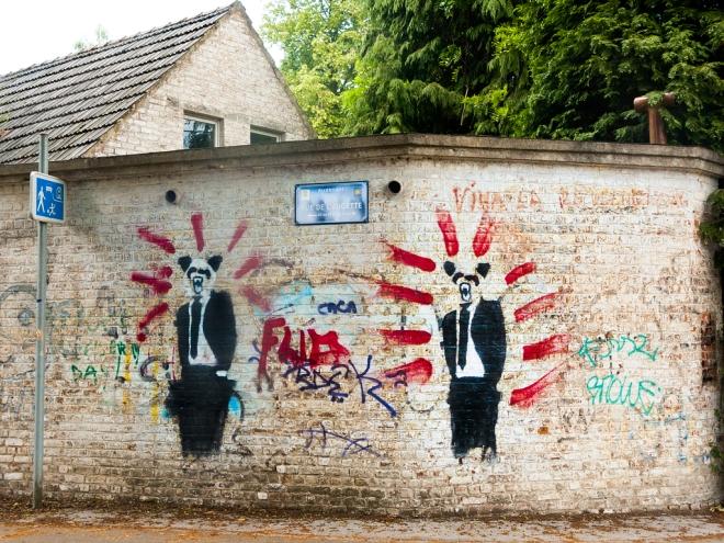 "Rue du Monastère ""revolution continues"" 6.2014 © Cedric Muscat"